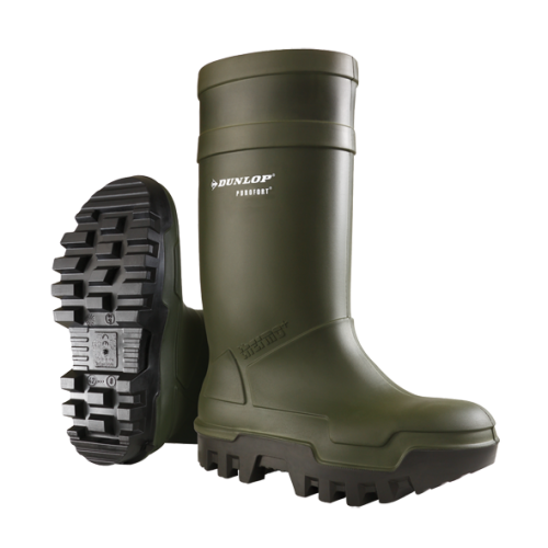 DUNLOP PUROFORT THERMO+ FULL SAFETY green/noir