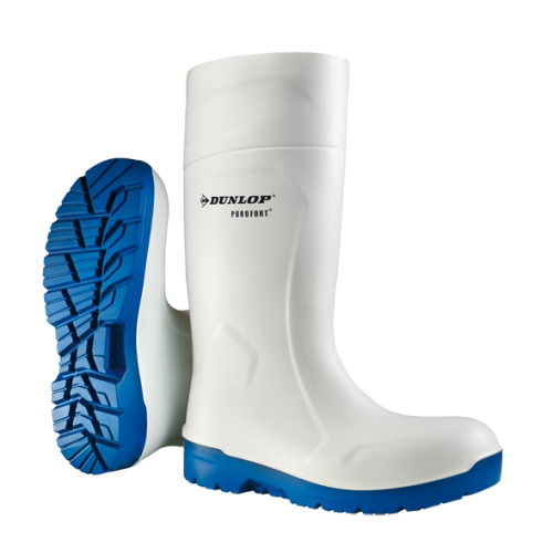 DUNLOP FOODPRO MULTIGRIP SAFETY - white/blue