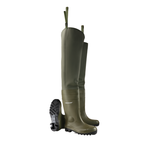 Болотники Dunlop Pricemastor Thigh Wader full safety