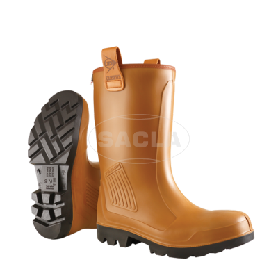 Сапоги Dunlop PUROFORT RIG AIR full safety Fur Lined