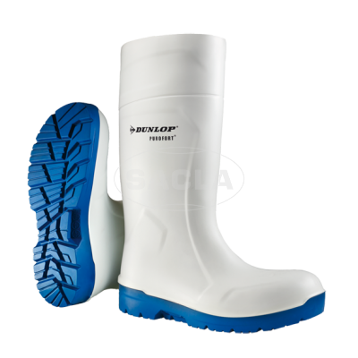 DUNLOP FOODPRO HYDROGRIP SAFETY - white/blue