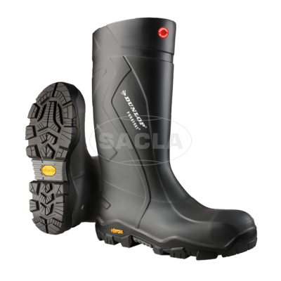Сапоги Dunlop Purofort+Expander full safety with Vibram sole